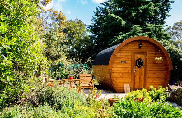 Marlborough Wine Barrel Cabins image