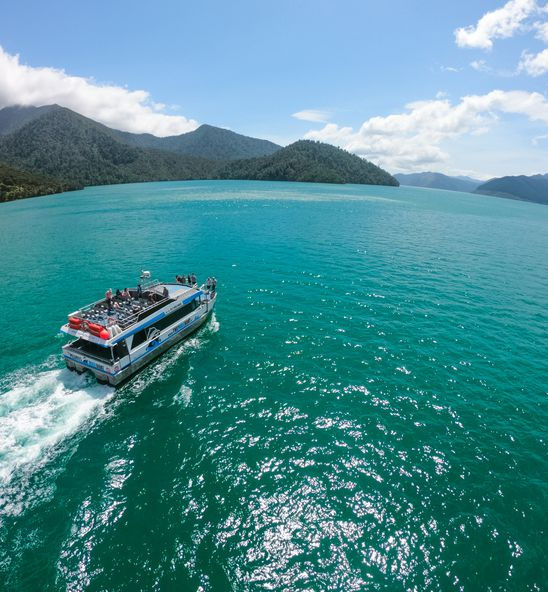 The Pelorus Mail Boat