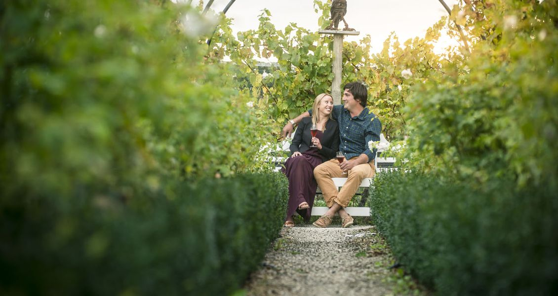 Romance in the Marlborough wine region, New Zealand. Copyright Destination Marlborough