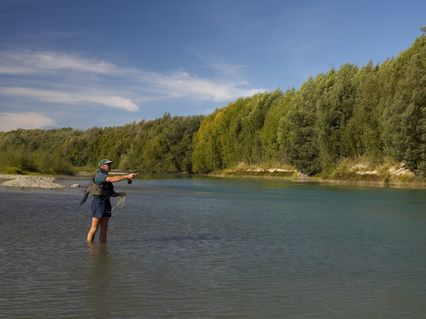 Fishing on the Wairau